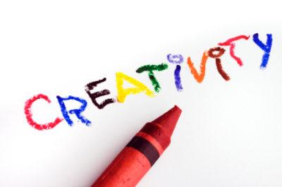 become creative