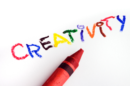 become creative