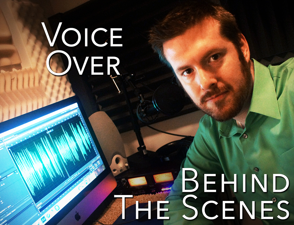behind the scenes of voice over