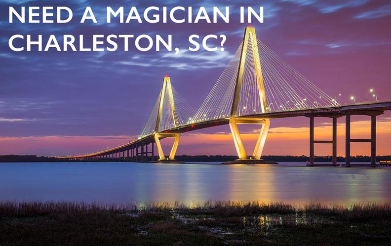 magician charleston sc