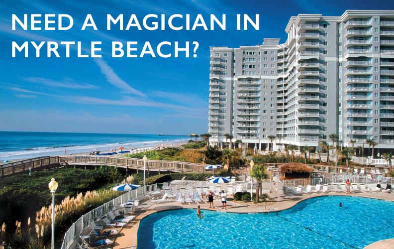 Magician Myrtle Beach Sc Announcement