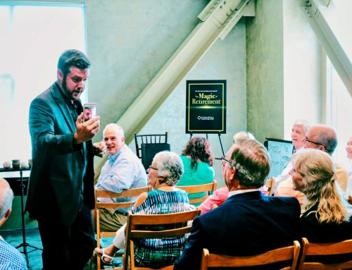 A show in Charleston, SC…from one magician to another.