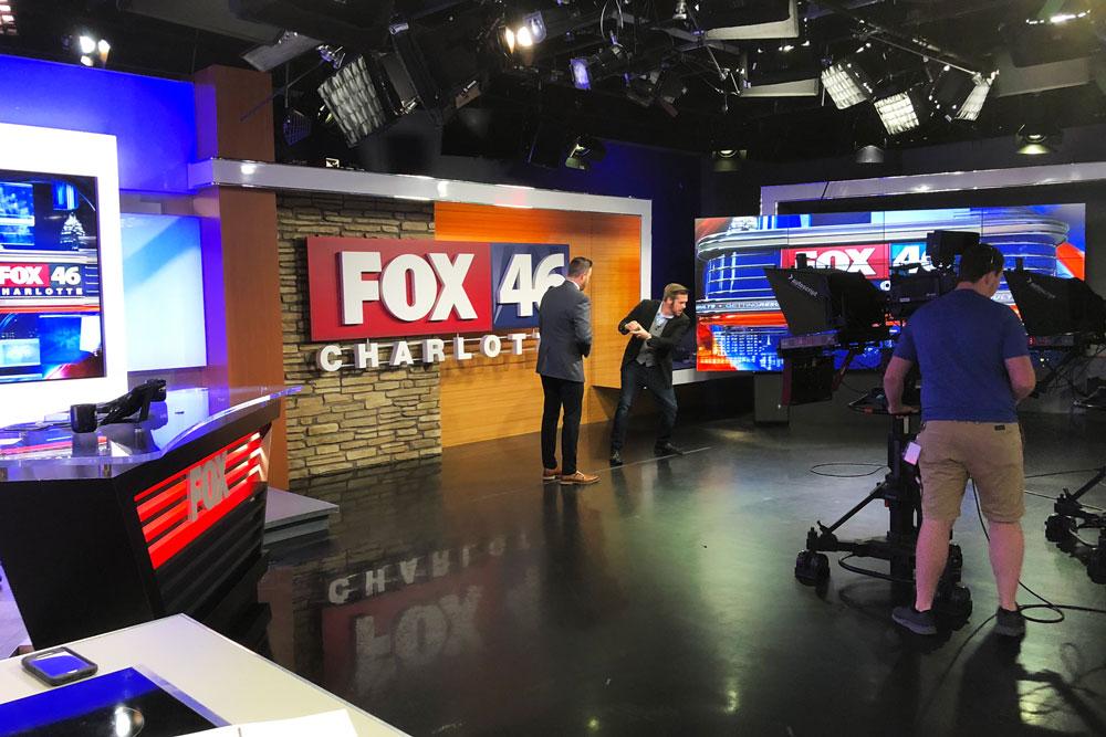Card trick for Jason Harper on Fox 46 Good Day Charlotte