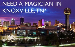 Magician Knoxville TN